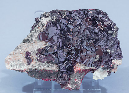 Cuprite with Dickite.