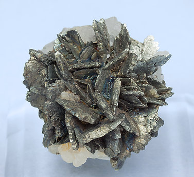 Marcasite with Calcite.