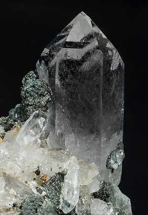 Quartz with Chlorite.