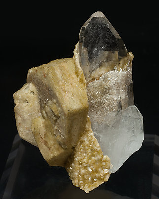 Siderite with Quartz.