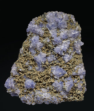 Fluorite with Fluorapatite and Chlorite.