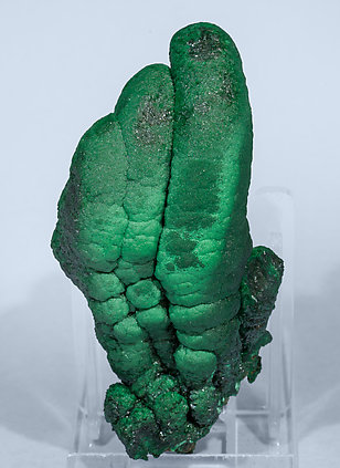 Malachite with Heterogenite. Front