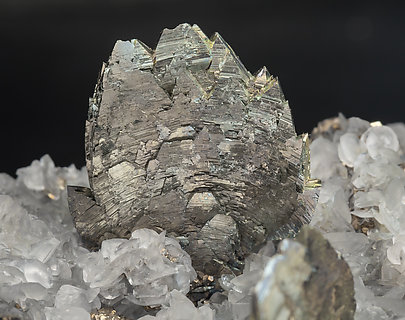 Marcasite with Pyrite and Calcite-Dolomite.