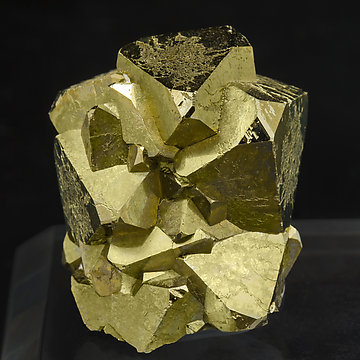 Octahedral Pyrite.