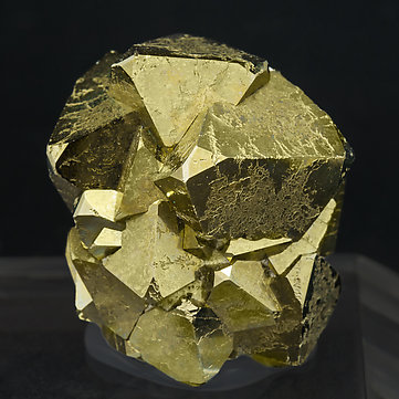 Octahedral Pyrite. Rear