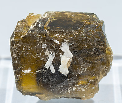 Siderite with Fluorapatite.
