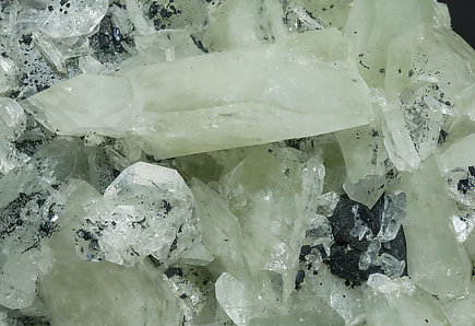 Datolite with Ilvaite.