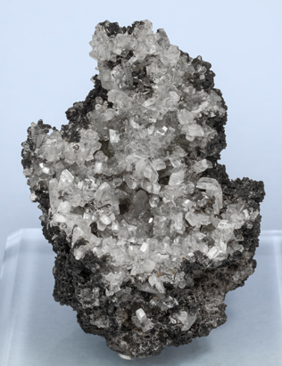 Tarbuttite with Parascholzite-Scholzite. Front