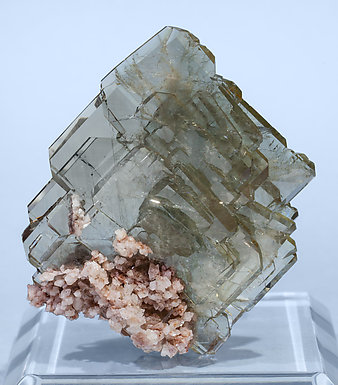 Baryte with Dolomite. Front