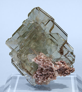 Baryte with Dolomite. Rear