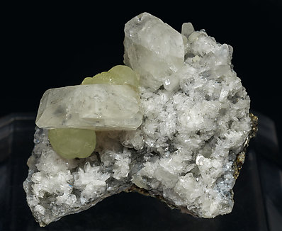 Datolite with Prehnite.