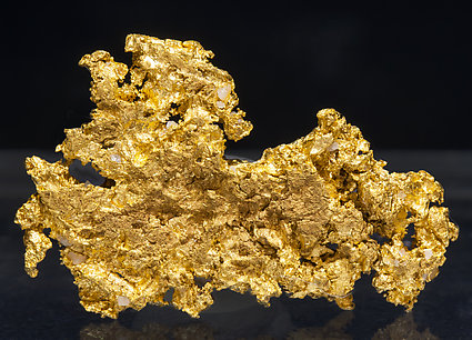 Gold. Front