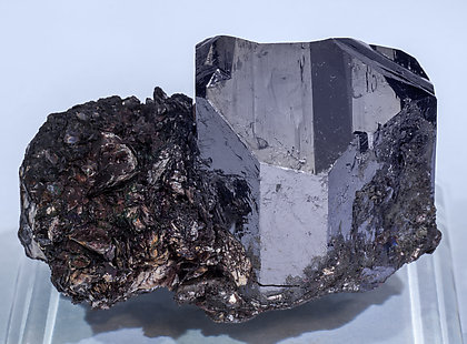Rutile with Pyrophyllite. Rear