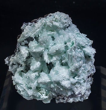 Tarbuttite with Hydroxylapatite and Hemimorphite.