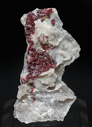 Cinnabar with Dolomite.
