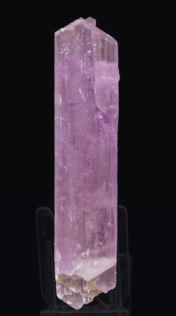 Spodumene (variety kunzite) with Albite. Rear