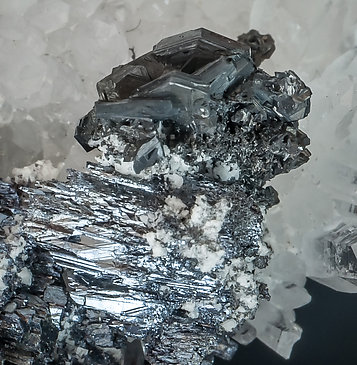 Pyrargyrite with Polybasite.