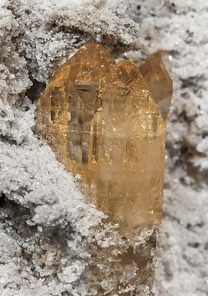 Topaz with Quartz.