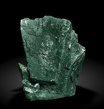 Malachite after Azurite. Rear