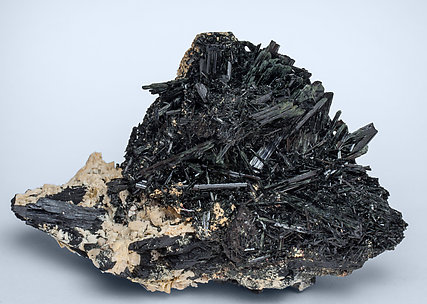 Arfvedsonite with Feldspar. Front