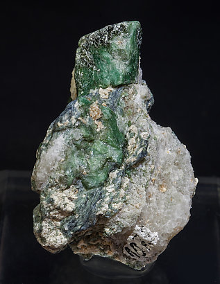 Chromium-rich Lawsonite with Glaucophane.