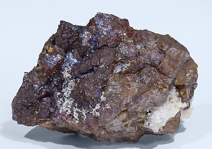 Sphalerite with Quartz. Rear