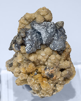 Acanthite with Dolomite.
