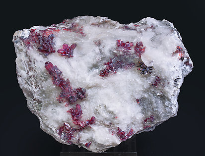 Proustite with Calcite.