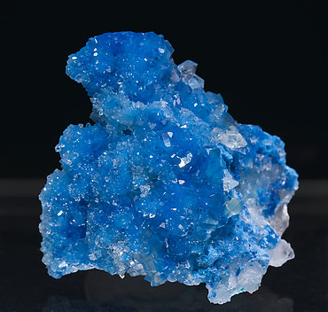 Shattuckite with Quartz and Chrysocolla.