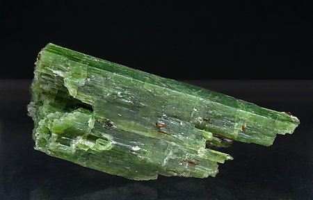 Cr-rich Tremolite with Graphite and Clinohumite.