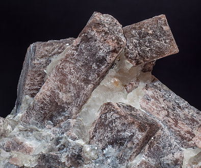 Andalusite  with Quartz and Mica.