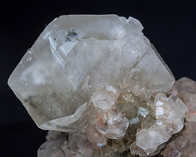 Calcite with Fluorite.
