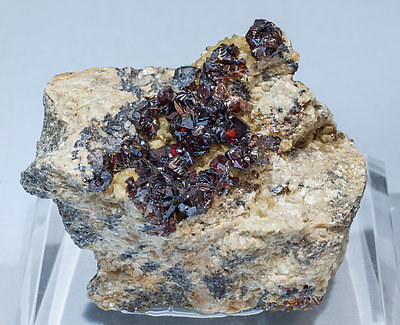 Sphalerite with Siderite.