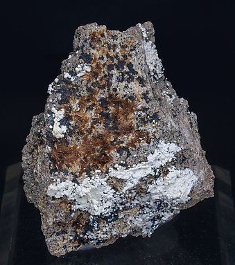 Yuanfuliite with Hematite, Calcite and Diopside.