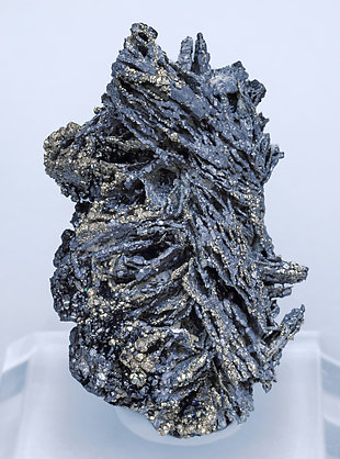 Galena after Pyrrhotite with Sphalerite and Pyrite.