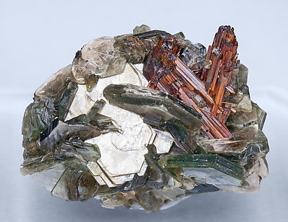 Rutile with Muscovite.