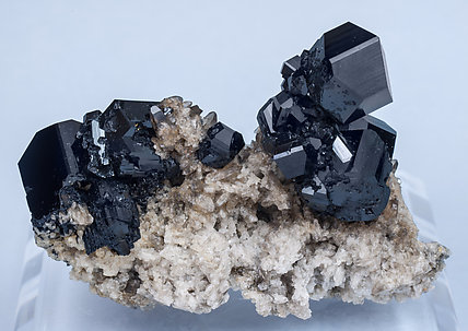 Schorl with Quartz. Rear