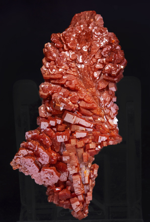 Vanadinite. Rear