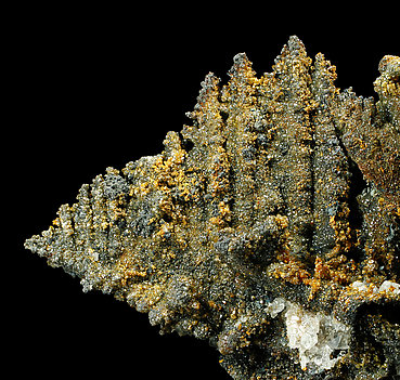 Willemite after Descloizite with Mimetite and Hemimorphite.