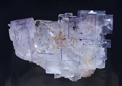 Fluorite with inclusions. Top
