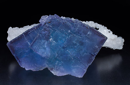 Fluorite with Quartz. Top