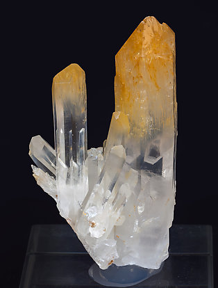 Quartz with inclusions.