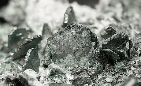 Djurleite-Chalcocite intergrowth with Calcite.