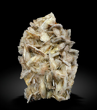 Baryte with inclusions. Front