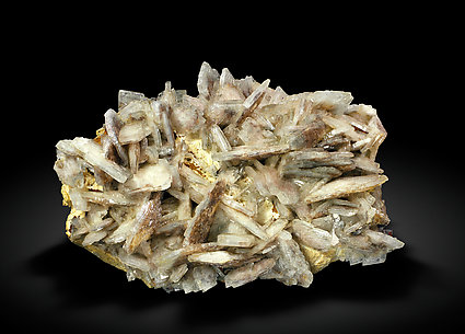 Baryte with inclusions. Side