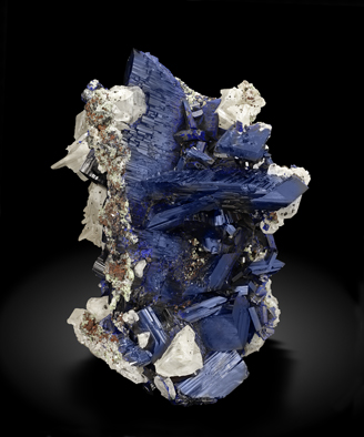 Azurite with Cerussite. Photo: Joaquim Callén