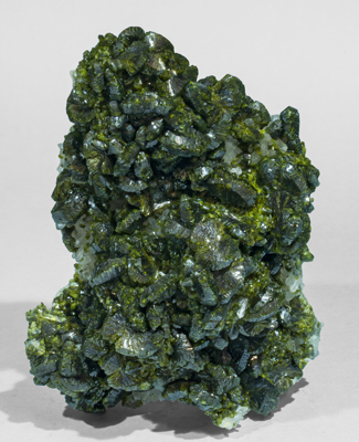 Epidote with Quartz. Side