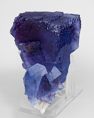 Fluorite with Baryte. Side