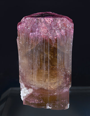 Elbaite with Feldspar. Front