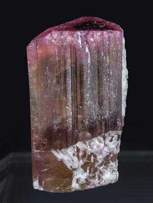 Elbaite with Feldspar. Rear